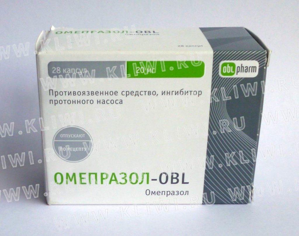 Омепразол-OBL