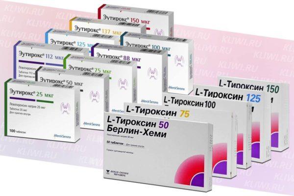 Эутирокс или L-Тироксин — что лучше?