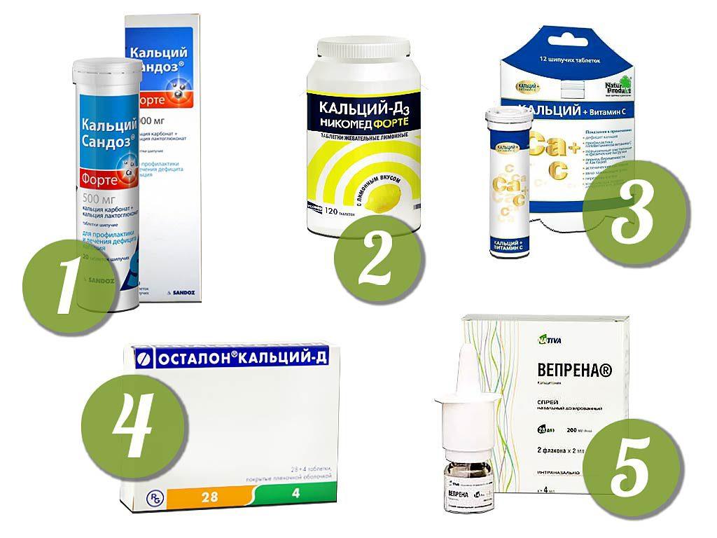 Препараты кальция для пожилых женщин