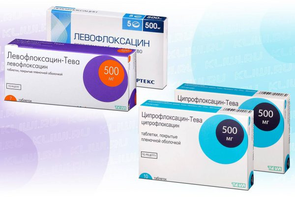 Левофлоксацин или Ципрофлоксацин?